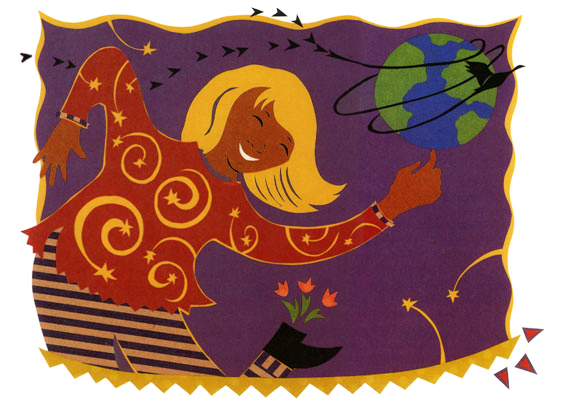 Song & Dance -illustration (Simon and Schuster)