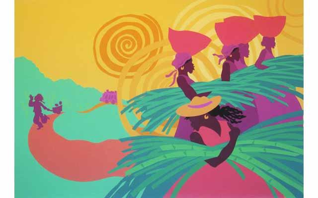 Coconut Mon - illustration  (Tambourine Books)