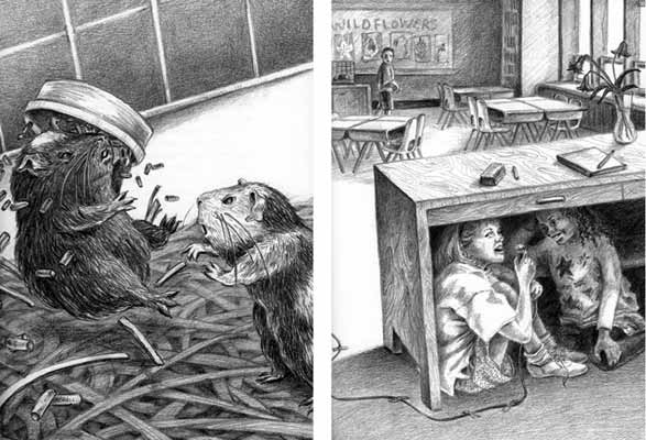 Guinea Pigs Don't Talk - illustration Clarion Books)