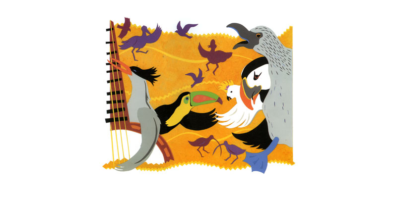 Song & Dance - illustration (Simon and Schuster)