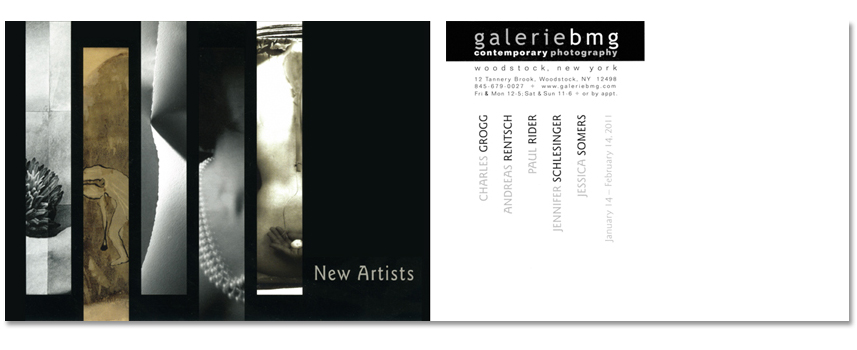 Galerie BMG postcard front and back