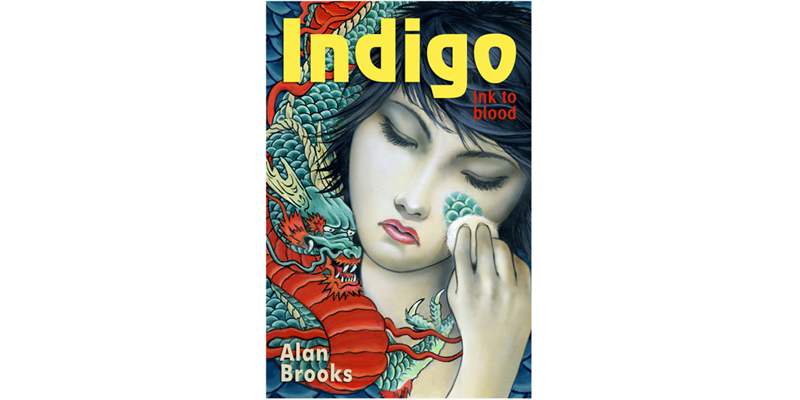 Indigo: Ink to Blood book design