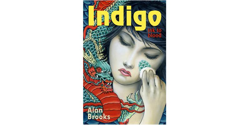 Indigo: Ink to Blood - book design