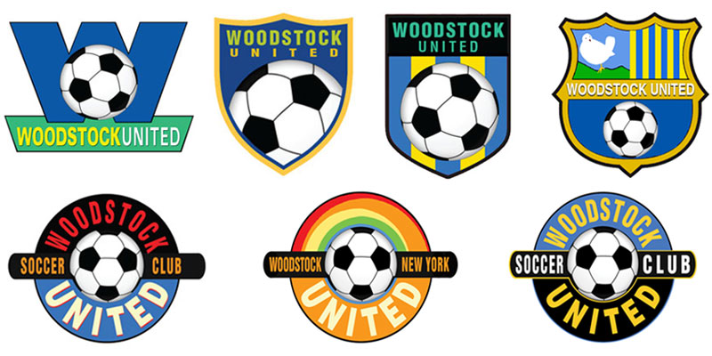 Woodstock soccer patch design proposals